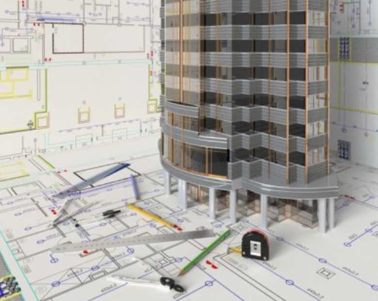 Architektonický návrh budovy